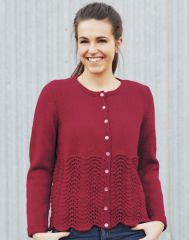 PT8321 - Feather and Fan Cardigan PDF