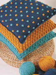 PT8524 - Bobble Crochet Cushions