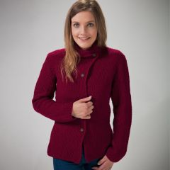 PT 8529 - Ladies Moss Stitch Jacket PDF