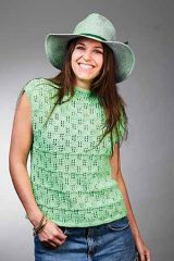 PT 8536 - 8 Ply Lace Cotton Top