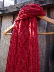 The Navigator: Country Roads Scarf PDF