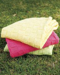 PT 8323 - Cotton Basketweave Blanket