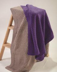 PT8517 - Slip Stitch Blanket in 5, 8, & 12 Ply PDF