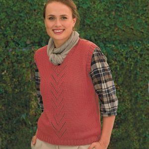 PT 8283 - Ladies Vest with Arrow Detail PDF