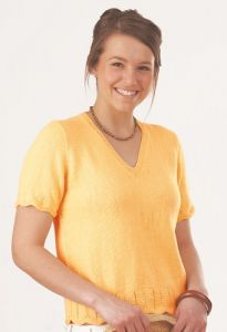 PT8287 - Ladies Vertical Rib Cotton Top