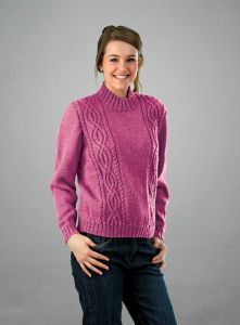 PT8293 - Ladies Cabled Jumper