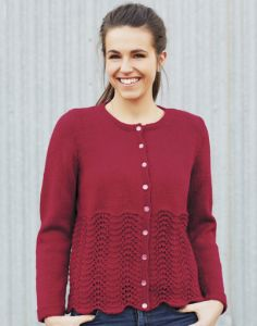 PT 8321 - Feather and Fan Cardigan