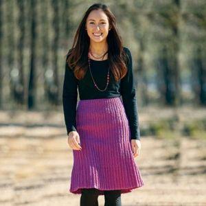 PT 8423 - Ribbed Skirt