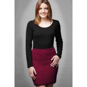 PT8476 Moss Stitch Skirt PDF