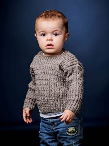 PT8486 - Child's Cable Pullover PDF