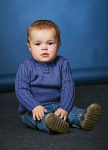 PT8490 - Child's Ribbed Sleeve Pullover