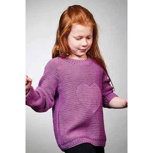 PT8538 - 10 Ply Kids Cotton Heart Jumper