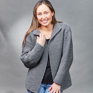 PT8553 - Garter Stitch Jacket