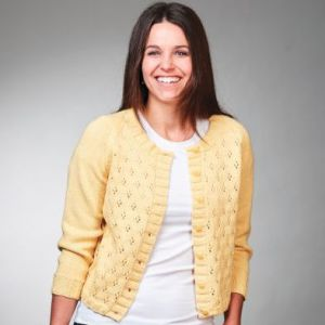 PT8567 8 Ply Cotton Cardigan