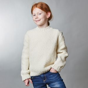 PT8577 - Kids Box Stitch Set-in-Sleeve Jumper