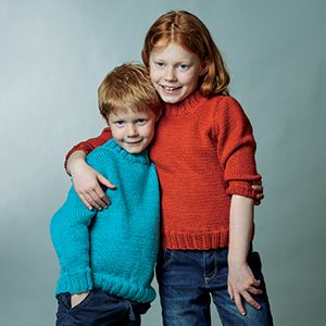 PT8586 - Kids Classic Set-in-Sleeve Jumper