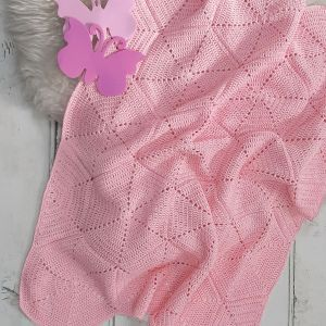 PT 8596 - Hexagon Motif Blanket in 3 plys and 3 sizes