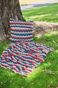 PT8569 - Crochet Blanket and Cushion - PDF