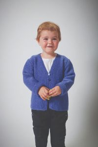 PT8522 - Moss Stitch Jacket for Kids