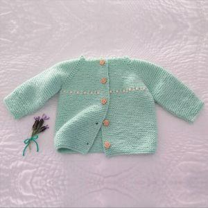 MK23 Sweet Baby Cardigan PDF