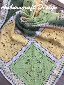 The Dragonfly Patch Blanket PDF