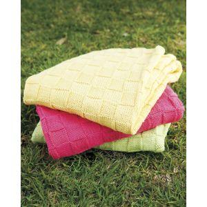 PT 8323 - Cotton Basketweave Blanket PDF
