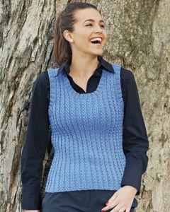 PT8329 - Mock Cable Vest