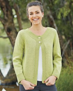 PT 8333 - Cardigan with Moss Detail