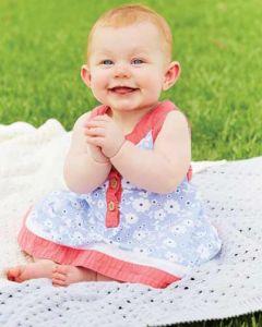 PT 8351 - Cotton Eyelet Baby Blanket PDF