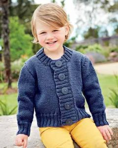 PT8354 - Basic Kid's Cardigan