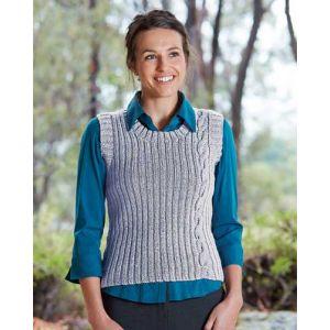 PT8373 - Ladies Vest with Single Cable PDF