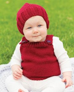 PT8384 - Beanie and Vest Set
