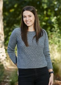 PT8500 - Reverse bubble stitch jumper