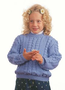 PT8099 - Child's Aran Jumper PDF