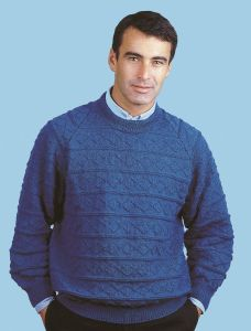 PT8109 - Men's Horizontal Diamond Pullover PDF