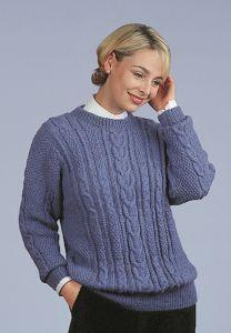 PT8113 - Women's Aran Pullover PDF
