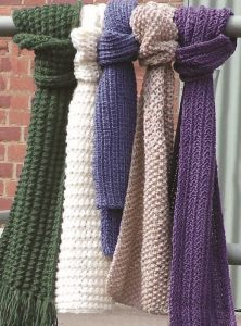PT8175 - Knitted Scarf Collection PDF