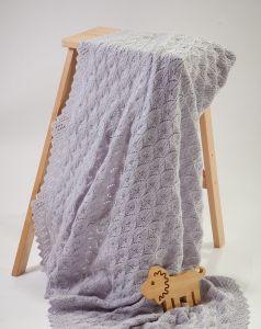 PT 8520 - Scalloped Lace Baby Shawl PDF