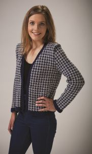 PT8523 - Houndstooth Jacket