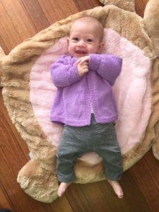 Violet Baby Jacket PDF
