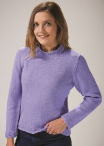 PT8531 - Ladies Jumper with Decorative Edge